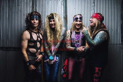 01 80/'s Vintage Eighties Art Photo Poster STEEL PANTHER 24 inch X 36 inch