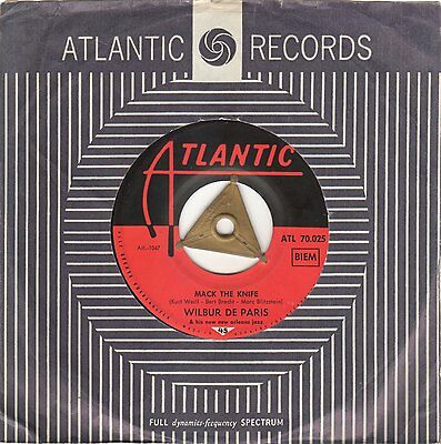 ♫ Wilbur De Paris - Mack The Knife / Colonel Bogey's March - Atlantic (DE) 1960