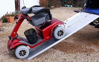 Mobility Scooter Wheelchair Folding Suitcase Ramp 7ft 2.1m Long VAT-Relief Price