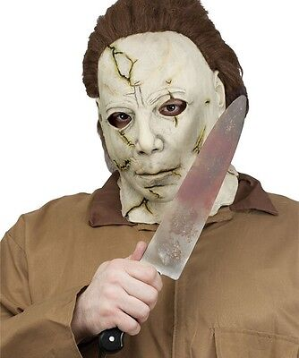 Halloween Fancy Dress Licensed Authentic Look Michael Myers Fake Knife 38cm New