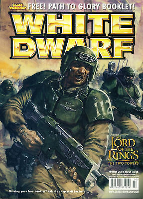 White Dwarf magazine #283 feat. Lord of the Rings Two Towers Games Workshop W...