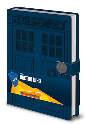 Doctor Who Tardis Embossed Premium A5 Notebook Bnip Dr Who Officially Licensed