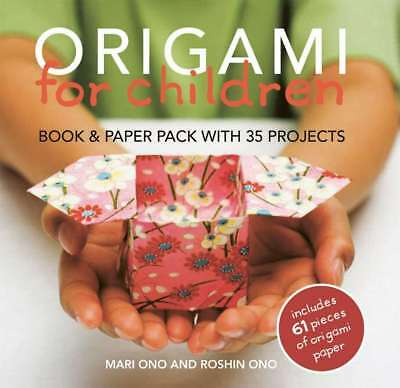 Origami for Children: 35 step-by-step projects with origami paper included, Mari