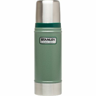 0.47L Stanley Classic Vacuum Bottle Flask Stainless Steel Hot Cold Green Thermos
