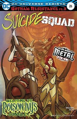 SUICIDE SQUAD #26 (METAL), New, First Print, DC REBIRTH (2017)