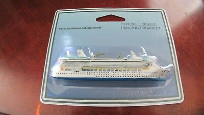 NEW Official Royal Caribbean Freedom of the Seas Ship Ornament Christmas RCCL