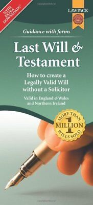 Last Will & Testament Form Pack How to Create a Legally Valid W... 9781909104327