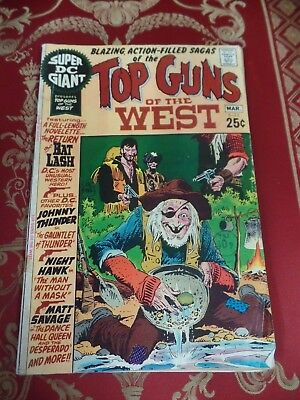Top Guns of the West #22 March 1971 Bagged DC Comic
