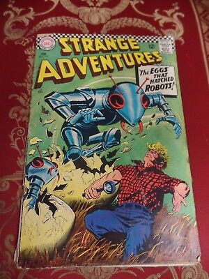Strange Adventures #197 February 1967 Bagged DC Comic