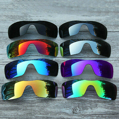 Polarized Replacement Lenses for-Oakley Batwolf Sunglasses-Optional Colors