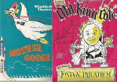 Selection Of Classic Pantomime Programmes