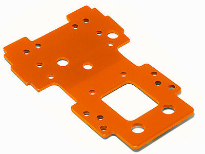 Hpi Racing Savage X 4.6 Silver/black 105892 Bulkhead Lower Plate 2.5Mm (Orange)