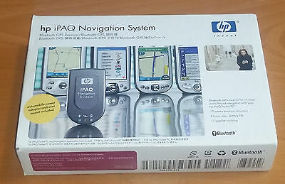 HP iPAQ Navigation System - Bluetooth GPS receiver for pocket pc
