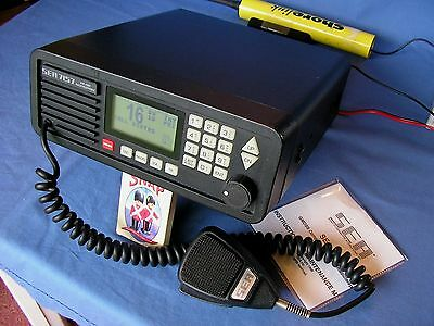 Sea 7157  Marine Vhf Radio Gmdss Commercial Top Of The Range
