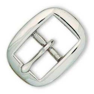 """1"""" Cart Buckle (Nickel Plate) - Tandy Leather #1608-02"""