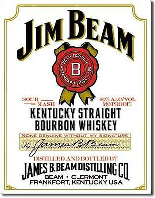 Jim Beam White Label Kentucky Whiskey USA Werbung