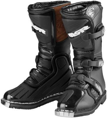 MSR VX-1 MX SX Off Road Youth Boot Black Leather Y6