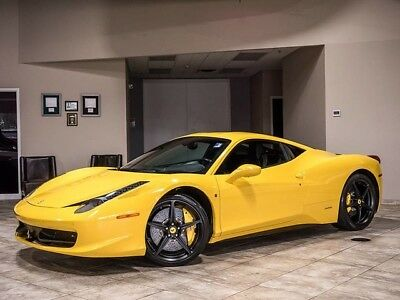 2011 Ferrari 458  2012 Ferrari 458 Italia Coupe Giallo Modena $58K in Options  MSRP$289K+ LOADED