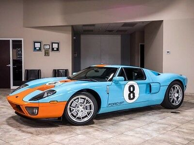 2006 Ford Ford GT Base Coupe 2-Door 2006 FORD GT Heritage Edition All 5 Options! Collector Quality Perfect Serviced!