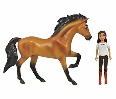 Breyer Spirit Riding Free - Spirit and Lucky Small Horse and Doll Toy Set New