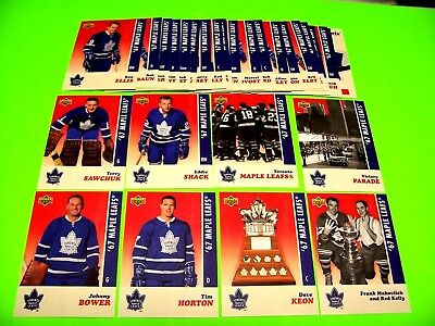 2017 Toronto Maple Leafs STANLEY CUP CHAMPIONSHIP BANNER **YOU PICK** ref 17 18
