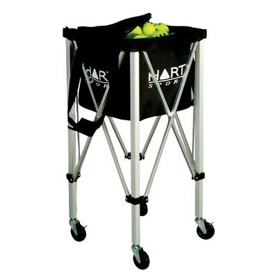 Hart Tennis Ball Cart - Lightweight Sturdy Aluminium Trolley (19-356)