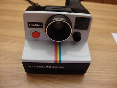One Vintage Polaroid One Step Instant Camera Using Sx-70 Film Made In Uk
