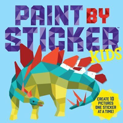 Paint By Sticker Kids by Workman Publishing 9780761189411 (Paperback, 2016)