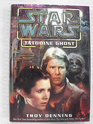 2003 Star Wars HC First Edition Book Tatooine Ghost Del Rey Leia Solo Chewbacca