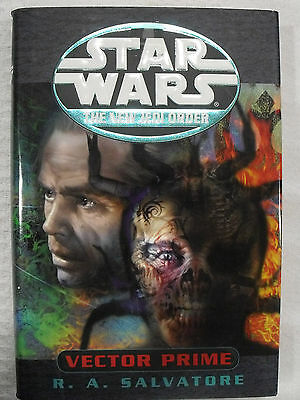1999 Star Wars HC First Edition Book Del Rey The New Jedi Order Vector Prime