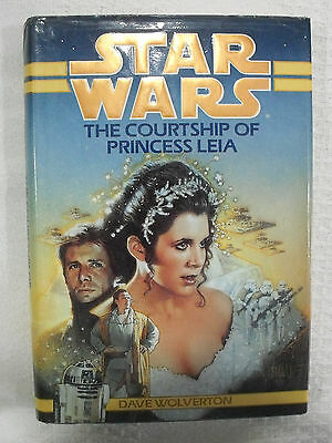 1994 Star Wars HC DJ Book Bantam Spectra The Courtship Of Princess Leia