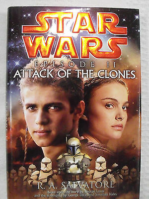 2002 Star Wars HC First Edition Book Del Rey Episode II Attack Of The Clones