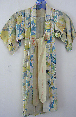 Vtg antique child's Kimono