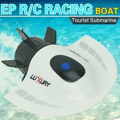 RC Toys Mini Submarine 4CH High Toy Speed Powered Remote Control Boats 2.4G New