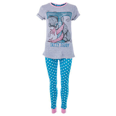 Womens Me To You Tatty Teddy T Pyjamas In Blue From Get The Label