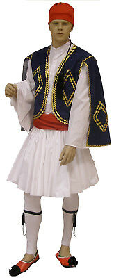 Greek Traditional Costume TSOLIAS size Teens - Men MARK561 Greece Evzon Evzonas