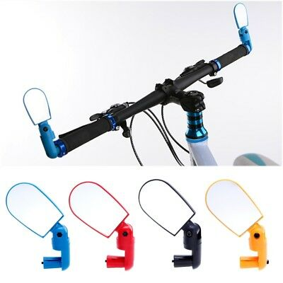 Flexible Universal Bicycle Cycling Bike Handlebar End Rear View Rearview Mirror