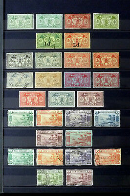 New Hebrides 1911-1938  29 Stamps Incl High Values
