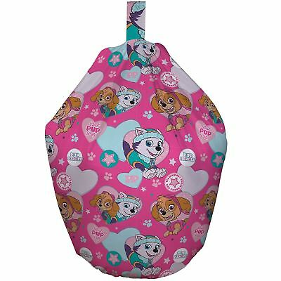 Official Paw Patrol Pals Bean Bag Cotton Kids New
