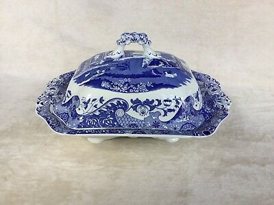 Rare Spode Italian Lidded Vegetable Tureen Excellent Condition