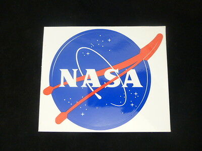 "OFFICIAL NASA ""MEATBALL"" STICKER - Authentic Vinyl Decal 3.5""  - 1 Sticker - NEW"