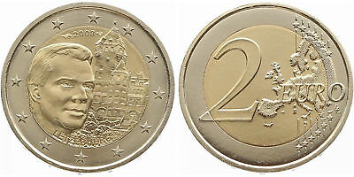 """Luxembourg 2008: """"Schloss on the mountain"""", mint state"""