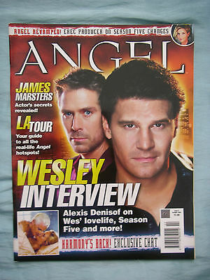 Official UK Angel Magazine # 2 - Oct 2003 spin-off from Buffy the Vampire Slayer