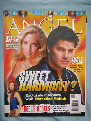 Official UK Angel Magazine # 8 - Mar 2004 spin-off from Buffy the Vampire Slayer