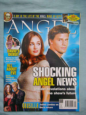 Official UK Angel Magazine # 9 - Apr 2004 spin-off from Buffy the Vampire Slayer