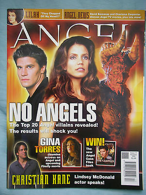 Official UK Angel Magazine # 17  Nov 2004 spin-off from Buffy the Vampire Slayer