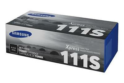 New Genuine Samsung MLT-D111S/ELS Toner Cartridge (1000 pages) - Free Delivery