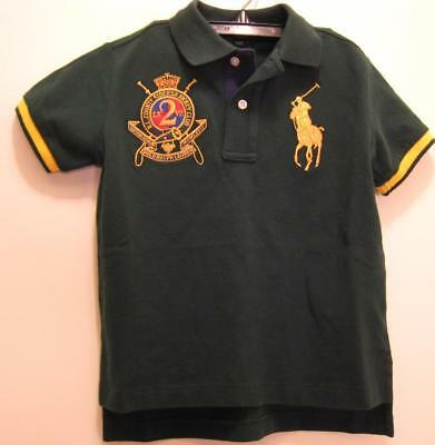 NEW POLO RALPH LAUREN Boys Shirt Top Big Pony 12M NWT