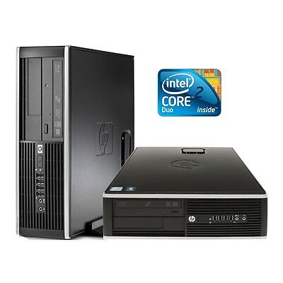 HP 8000 Elite Sff Intel Core 2 Duo 2.93 Ghz 4 Gb 250 Gb DVD-Rw Windows 7