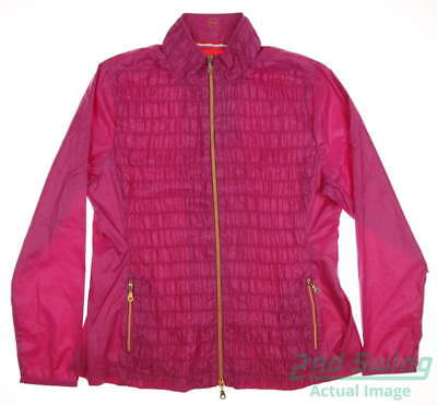 New Womens EP Pro Sport Golf Hot House Jacket Large L Pink MSRP $145 1106SAA